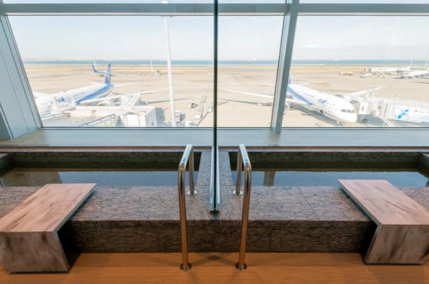 ANA羽田空港第2ターミナル国際線 ラウンジ